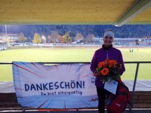Angelika Krismer - LG-Pletzer Hopfgarten - Vereinsheldin